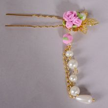 [wamami] Details about 699# OOAK Classical Ancient Flower Hairpin For 1/3 SD AOD DOD DZ BJD Dollfie(China)