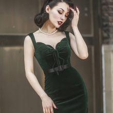 Lady sexy spring summer autumn office work formal dinner holiday ball party night club out vintage ceremony tight hip dress(China)