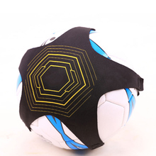 Kick Practice Auxiliary Soccer Children Soccer Trainer Belt Adjustable Kids Football Training Equipment Ball Juggle Bags B2Cshop(China)