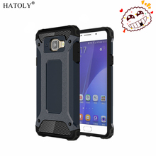 HATOLY For Coque Samsung Galaxy A5 2016 Case Galaxy A5 2016 Heavy Armor Slim Hard Cover Silicone Case for Samsung A5 2016 A510#<