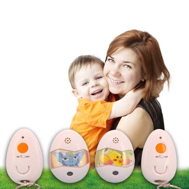 Anti-lost Tracker Wireless Smart Tag Anti-children lost Mini Two-Way Tracker Child with Remote Control Finder Alarm FC<br>