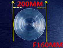 Fresnel Lens Diameter 200 mm, Focal length 160mm,High light condenser,Fresnel Lens used Plane enlarge,   Solar concentrator,