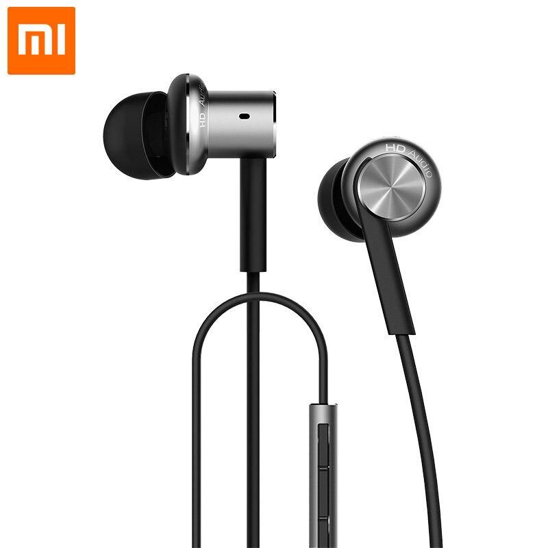 Xiaomi Original Mi Hybrid Earphones Earbuds In Ear With Mic Remote Wire Control<br><br>Aliexpress