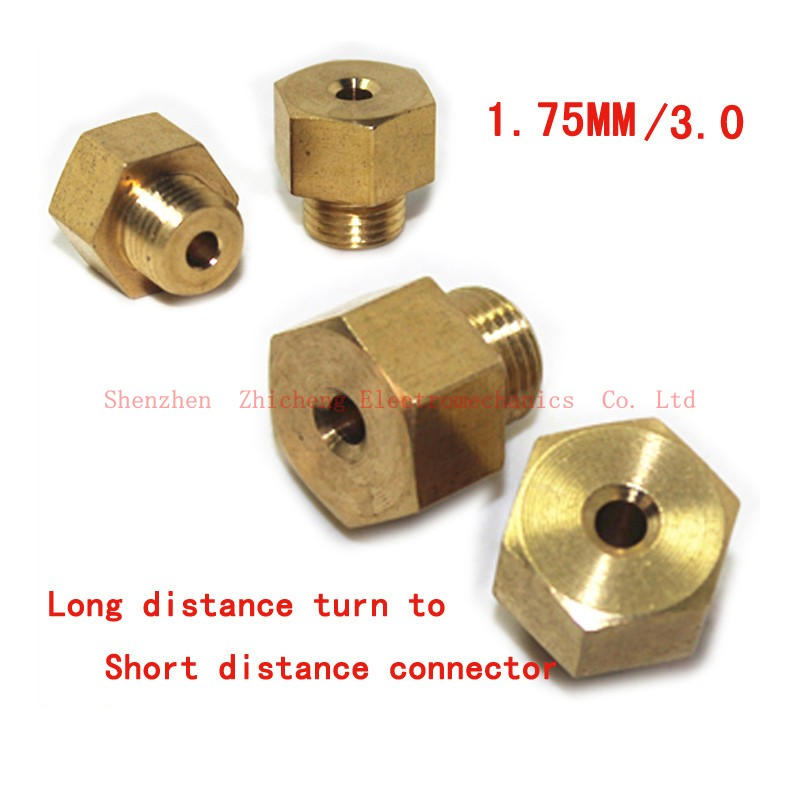 Accessories General 3DV5V6 remote switch Proximity copper fittings quick connector adapter for1.75 / 3.0 mm<br>