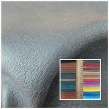 NEW! Litchi grain style 1.2mm faux leather fabric 77 color soft durable PU synthetic leather textile fabric for sofa bag leather