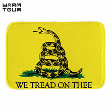 WARM TOUR Cute Design No Step On Snek Door Mat Indoor Outdoor Bathroom Doormats For Home Office Bedroom Front Door Fabric Mats(China)