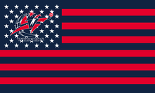 Washington wizards Stars and Stripes Flag 3X5FT Basketball Club Flag Custom Washington wizards Flag