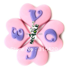 Nicole R0238 3D Heart Shape Love Design Handmade Silicone Natural Soap Candle Molds Valentine Day Mould