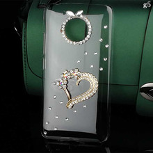 Diy Heart Crystal for Moto G5 G5 Plus Cover Bling Cell Phone Case for Moto G4 Play Z Play Diamond Rhinestone Mobile Phone Cases