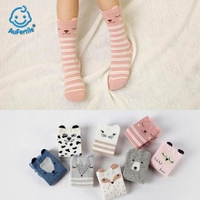 Cute Three - Dimensional Children 's Socks Boys and Girls Long Kids Socks Cotton Lovely Animals with Ears Baby Socks