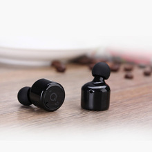 New Mini&Tiny X1T Bluetooth 4.2 HD Wireless Stereo Bluetooth Earphone Build-in Mic Touch Control In-ear Headphone Iphone Android