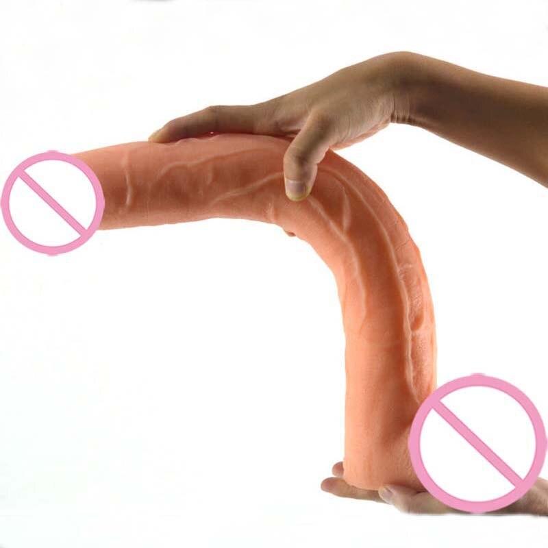 15.5 Inch Super Big Dildo Sex Toys For Women Masturbation Huge Dildo Anal Beads Plug Vagina Massage Erotic Toys Faloimitator<br>