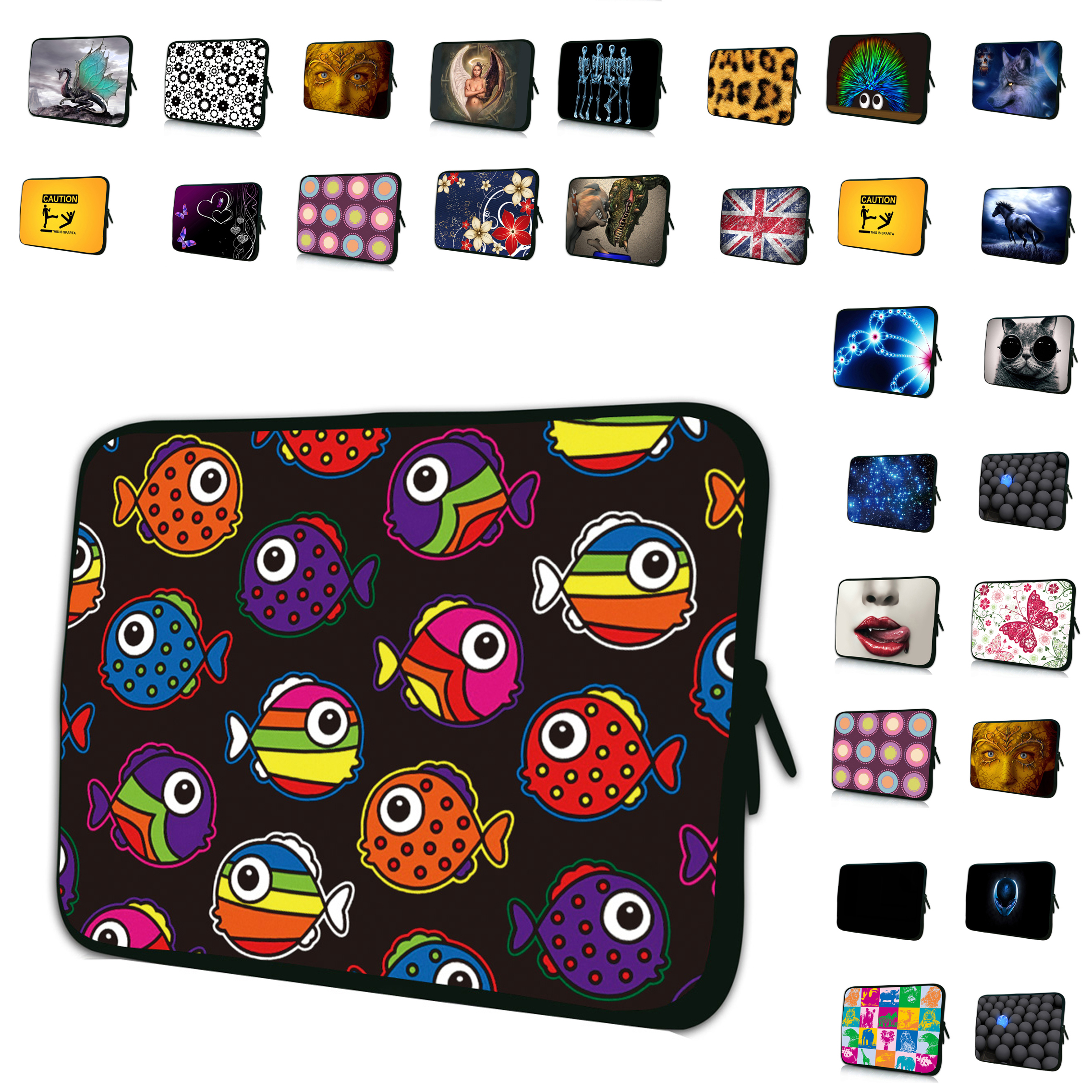 New Notebook BAG 7 10 12 13 14 15 17 17.3 15.4 13.3 11.6 Cover Laptop Sleeve Bags Cases For Macbook Acer Lenovo Dell Samsung HP(China)