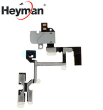Heyman Audio Flex Cable Ribbon Replacement for Apple iPhone 4 Cell Phone (Verizon AT&T)(China)