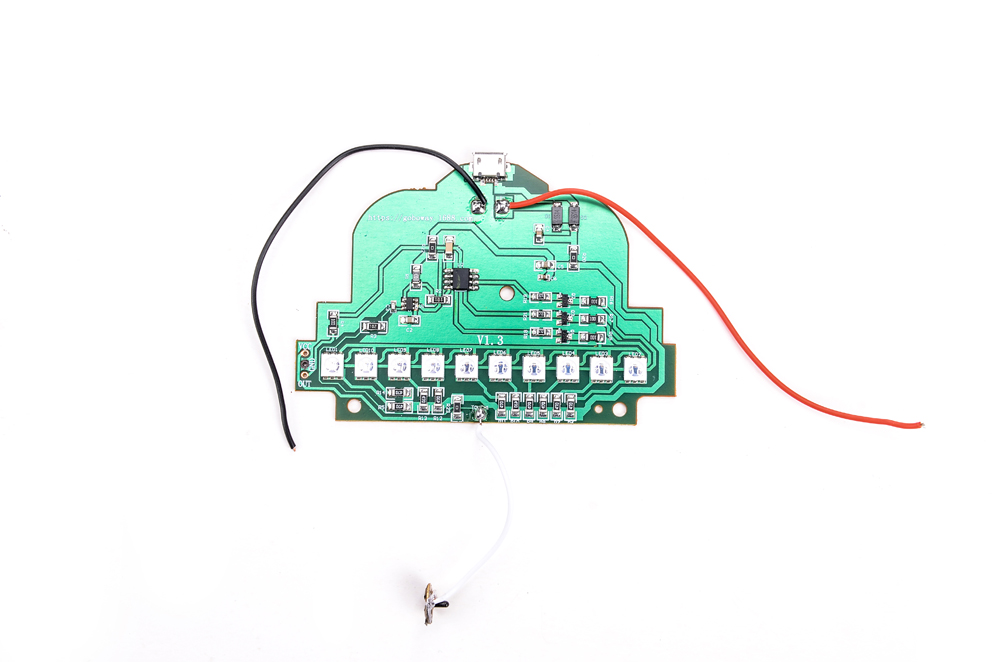 Best 3d Night Table Lamp Light Base Circuit Board And Usb Cable ...