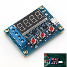 Li-ion Lithium Battery Capacity Tester  Resistance Lead-acid Battery Capacity Meter Discharge Tester Analyzer YX#