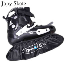 Japy Skate 4 Wheels Inline Skates Waterproof Leather Wheels Bag Roller Skating Shoes Cover Roller Holder Cover Wheels For SEBA(China)