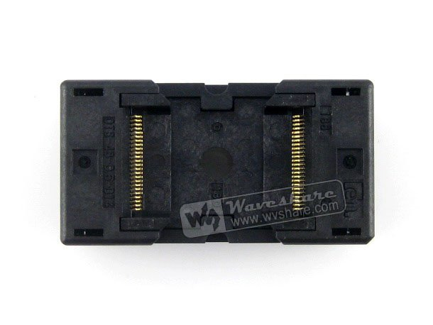 module TSOP48 TSOP 48 OTS-48-0.5-014 Enplas IC Test Burn-In Socket Programming Adapter 18.4mm Width 0.5mm Pitch<br>