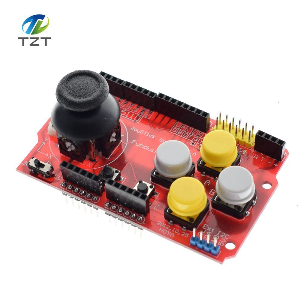 Joystick Shield for Arduino Expansion Board Analog Keyboard and Mouse Function Joystick Shield V1.2 2