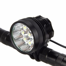 Buy 15000LM 9x XM-L T6 LED Cycling Bicycle Bike Head Hunting Light Headlight Waterproof Torch for $21.48 in AliExpress store