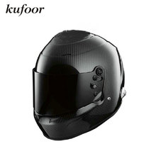 New Arrvial Snell SA2010 Approval Carbonfiber Glossy Black Full Face Rally Helmet/Motorcycle Racing Helmet/Kart Racing Helmet
