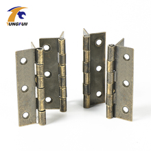 In Stock 20pcs 63*40mm antique wooden gift box hinge cabinet hinge great packaging accessories hinge table bathroom hinge(China)