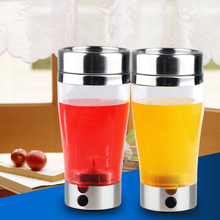400ML Portable Smart Automatic Electric Protein Shaker Blender Mixer Water Bottle Electric Protein Powder Shaker Cup