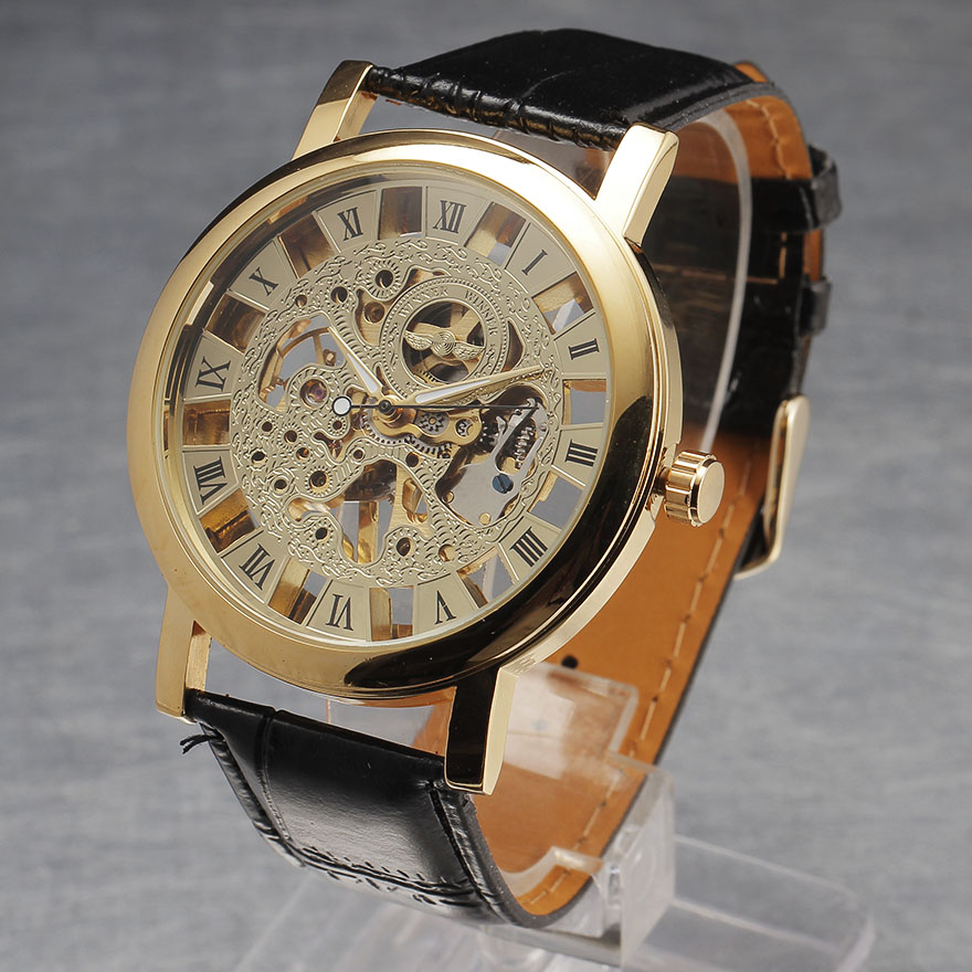 Winner Fashion Brand Casual Man Male Clock Military Business Skeleton Automatic Mechanical Sport Luxury Wrist Dress Watch 8225<br><br>Aliexpress