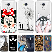 Huawei Honor 6A Case 5.0 inch Luxury Cartoon TPU Case Cover For Huawei Honor 6A Silicone Phone Protective Back Cover Skin
