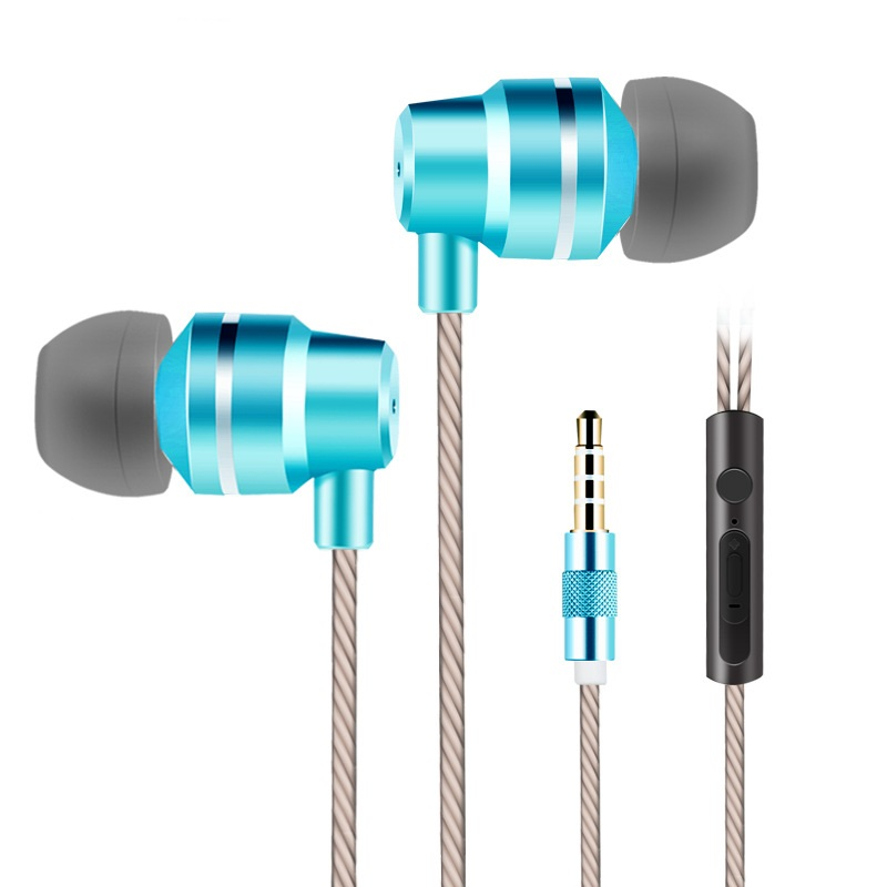 X100 3.5mm Music Earphones Earpods In-ear airpods With Mic Earbuds Stereo Headphones For Apple Mobile Phone Mp3 Player