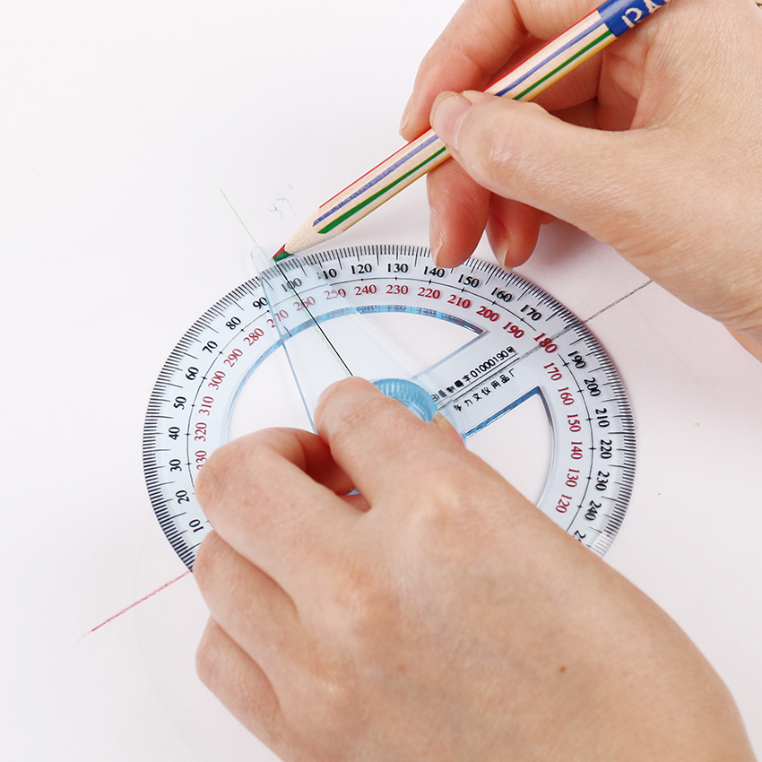 360 Grad Profi Winkelmesser 10 cm Durchmesser