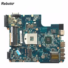 Reboto For Toshiba L640 L645 Laptop Motherboard A000073390 DA0TE2MB6G0 HM55 DDR3 Blue Full Tested Free Shipping(China)