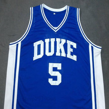 JEFF CAPEL III DUKE Blue Devils  Basketball Jersey  Embroidery Stitched Customize any size and name