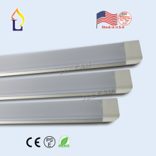 US stock Led clean purification tube light 4FT/55W 5FT/60W led flat batten light PF:0.9 wall lamp(China)
