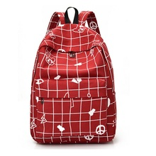 Best selling school packsack for teenagers printed fashion women shoulder bag travel knapsack plaid packsack WM56Z bolsos mujer