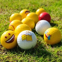 Golf Balls Cute Professional Practice Golf Balls. Kids Novelty Gifts for Dad Outdoor or Field Playing 12 pcs Free Shipping