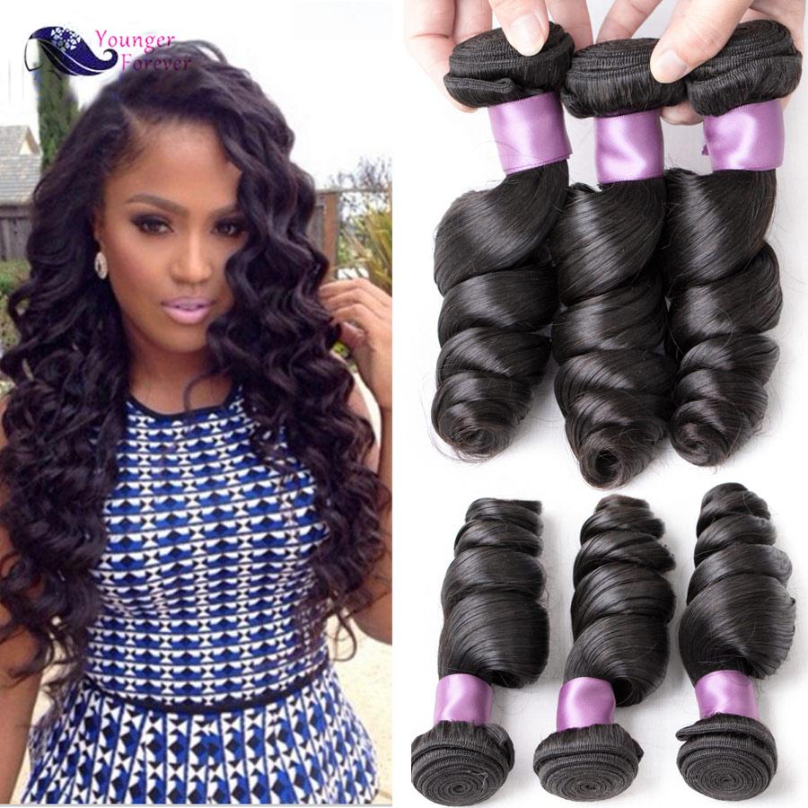 Peruvian Loose Wave 3 Bundles Peruvian Virgin Hair Loose Wave 7A Unprocessed Peruvian Loose Curly Virgin Hair Fast Shipping<br><br>Aliexpress