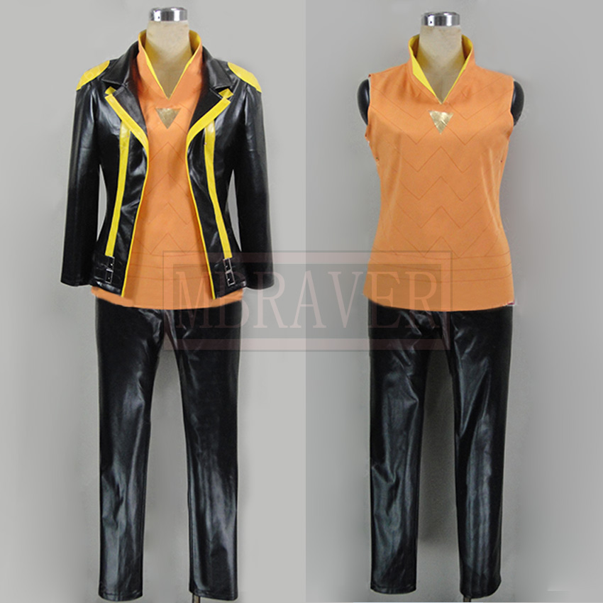Hot Go Team Instinct Spark Cosplay Costume Halloween Carnival Cosplay Outfit Custom Made