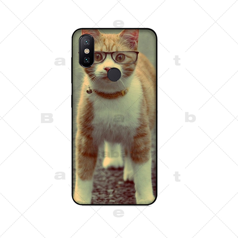 For iPhone X 8 8Plus 7 6 6S Plus 5S SE Cool Tiger Owl Cat Dog Cartoon Painted Silicone Phone Case For iphone 7 Cover