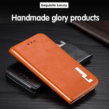 New style original High taste flip PU leather Good taste contracted phone back cover 5.4'For BlackBerry Priv Case cover(China)