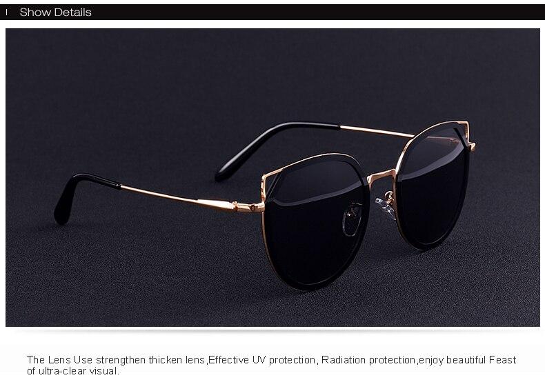 نظارات شمسية للسيدات بعدسات بلورايزد بعدة الوان 2018 13
