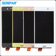 "5.0"" inch Four Color For Sony Xperia X F5121 F5122 LCD Display Touch Screen Digitizer Assembly Free Shipping+Tracking No."