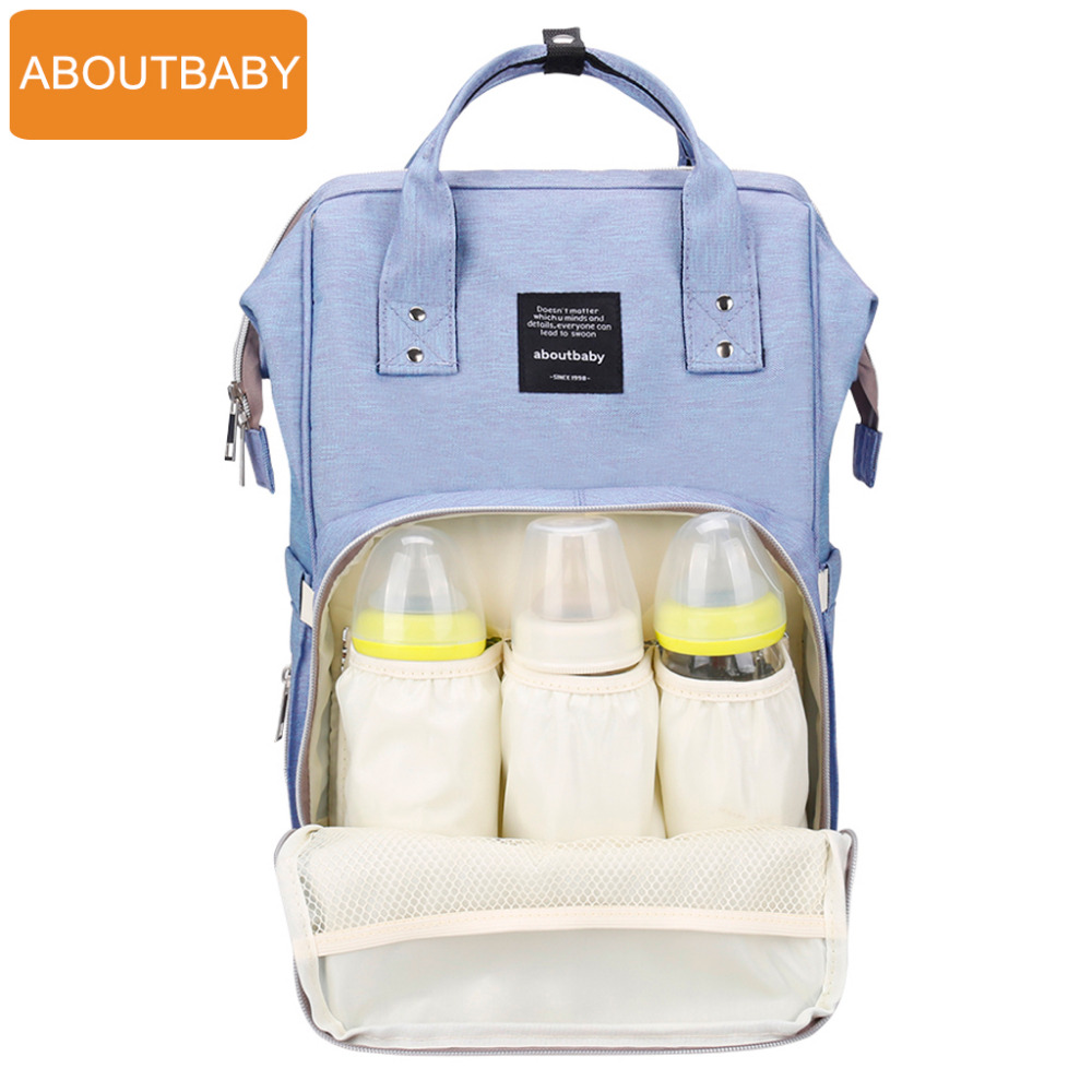 Baby diaper bag backpack designer diaper bags for mom mother maternity nappy bag for stroller organizer bag set accessories<br>