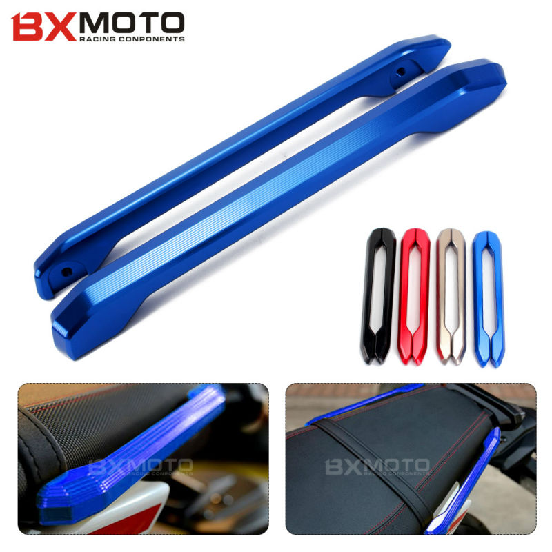 For Yamaha MT09 FZ09 MT-9 FZ-9 2014~2017 Motorcycle accessories Blue motorcycle Rear Grab Bars Rear Seat Grab Rail Handle<br>