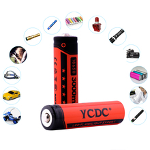 YCDC Cheap 4PCS 100% Original 3000 2000 1000mAh 18650 AA AAA Rechargeable Battery 3.7v 1.2v Li-ion Ni-MH Batteries For Panasonic