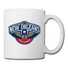 New Orleans Basketball Logo coffee mug funky car tazas ceramic tumbler caneca tea Cups