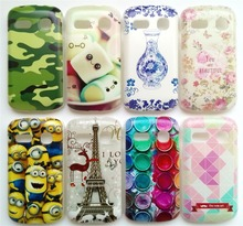 New Arrival Back Covers For Alcatel One Touch Pop C3 4033D Case Hard PC Plastic Back Case Many Patterns Choose Free Shipping