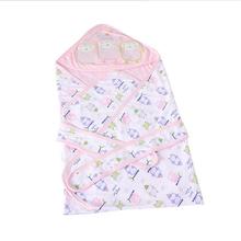 Baby Sleeping Bag Envelopes For Newborns Cotton Cover Blanket Summer Spring Autumn Sleeping Bag Advanced Combed Cotton Cover(China)