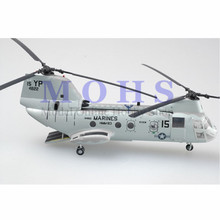 EASY MODEL 37000 Assembled Model Finished Scale Model Scale Helicopter Sea Knight Helicopter Marines CH-46E HMM-163(China)