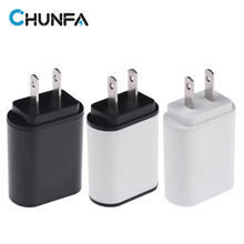 2USB US Plug Double USB Charger 2A 5V Dual USB Adapter USA Charging Quick Mobile Phone Charger Wall Chargers Universal Travel